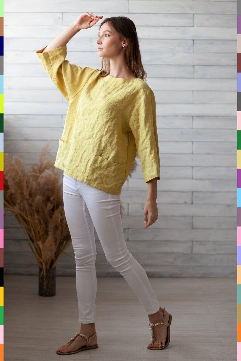 100 Pure Linen Italy Linen Shirt Flax Top Linen Top Italian Linen Pure Linen Linen Shirt Pure Products