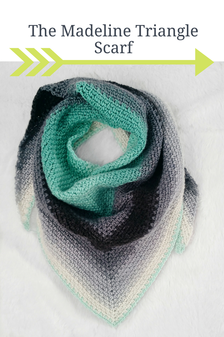 Crochet Triangle Scarf Pattern. It\'s free!   Crochet   Pinterest ...