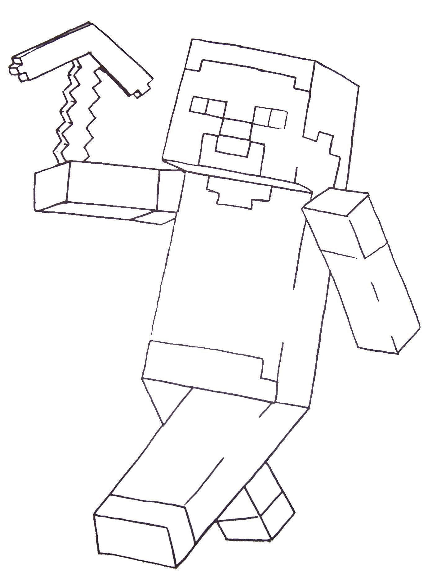Printable Minecraft Coloring Page Youngandtae Com In 2020 Minecraft Printables Minecraft Coloring Pages Printable Coloring Pages