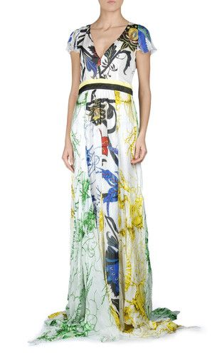 746d6cd18b3d Long dress Women - Dresses Women on Roberto Cavalli Online Store ...