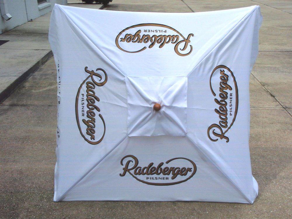 Radeberger Pilsner 7 German Beer Umbrella Market Patio Style New