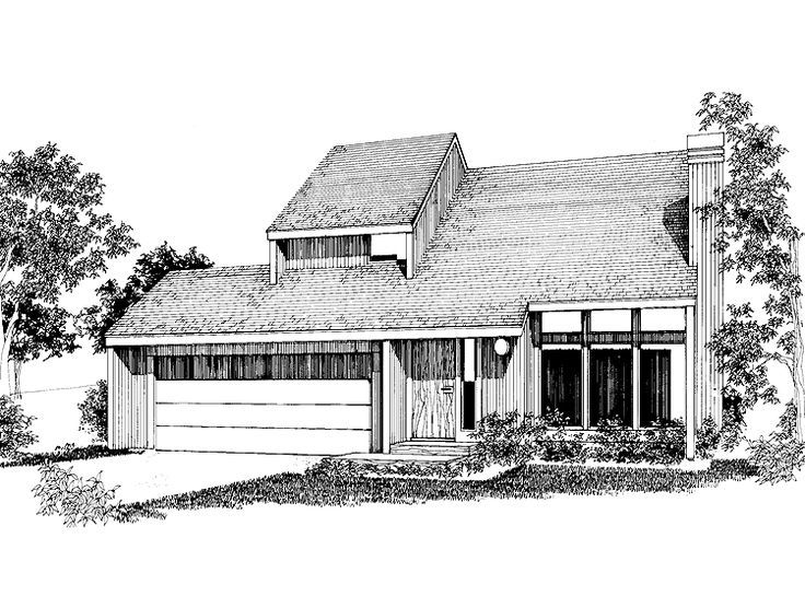 Image Result For 1970s Shed Style Shed House Plans Modern Contemporary House Plans Contemporary Style Homes