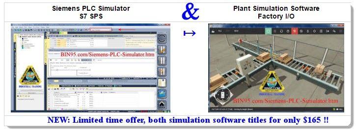 This Siemens PLC Simulator and Plant Simulation Software bundle make ...