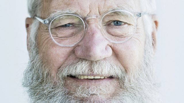 """""""I don't miss late-night television"""": Letterman (and his beard) shop at Target these days 