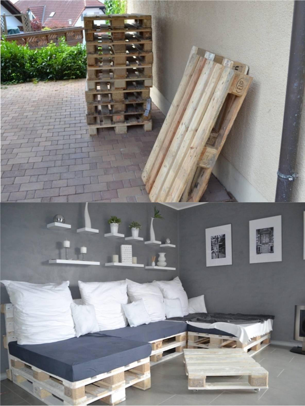Diy Pallet Sofa Bed Selfio De Sofá Cama Con Palés