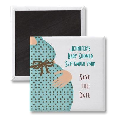 Baby Shower Save The Date Fridge Magnets From Http Www Zazzle