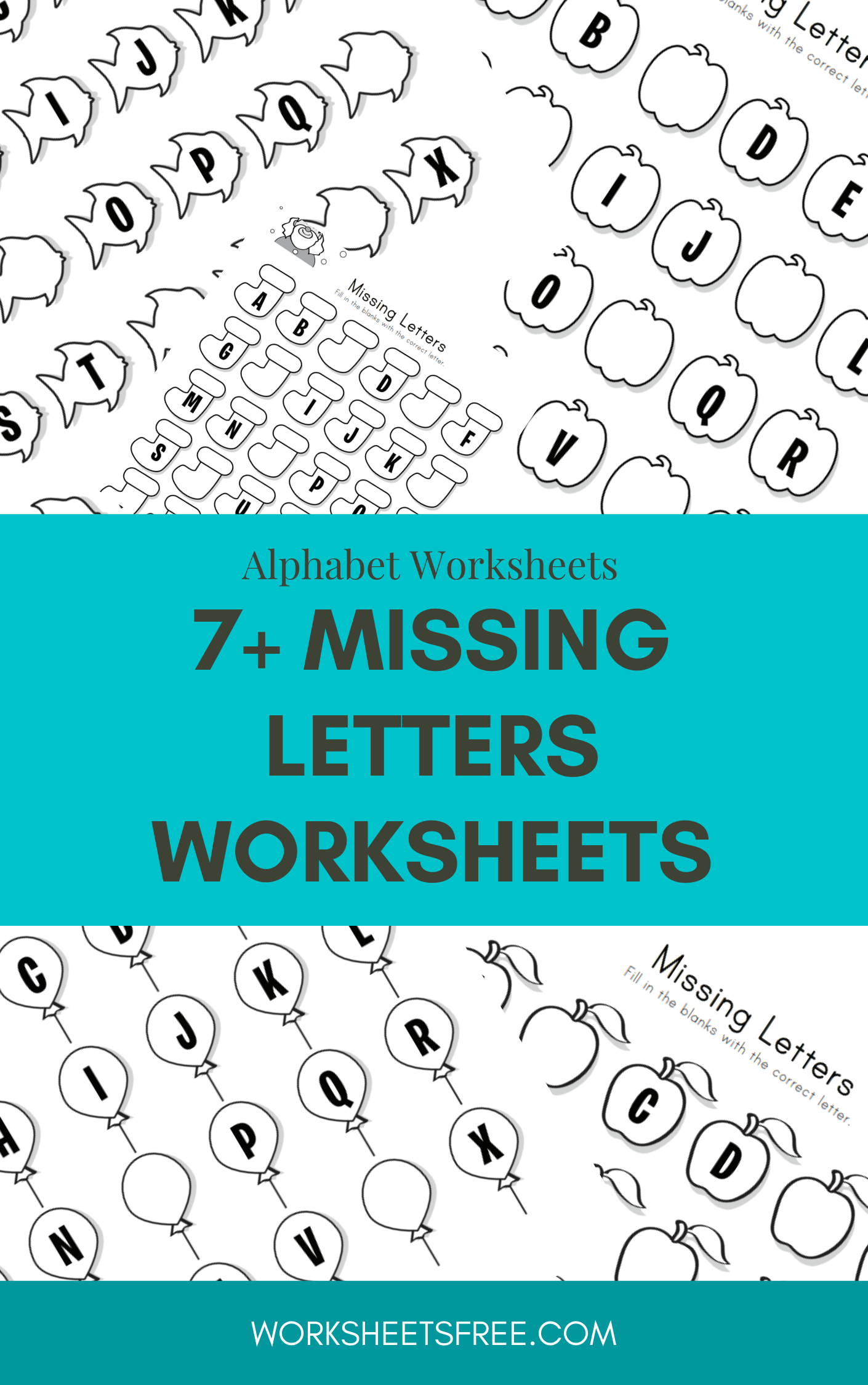7 Missing Letters Worksheets In