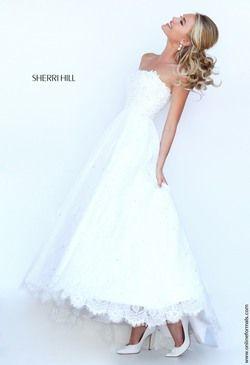 Sherri Hill 50490 Lace Dress