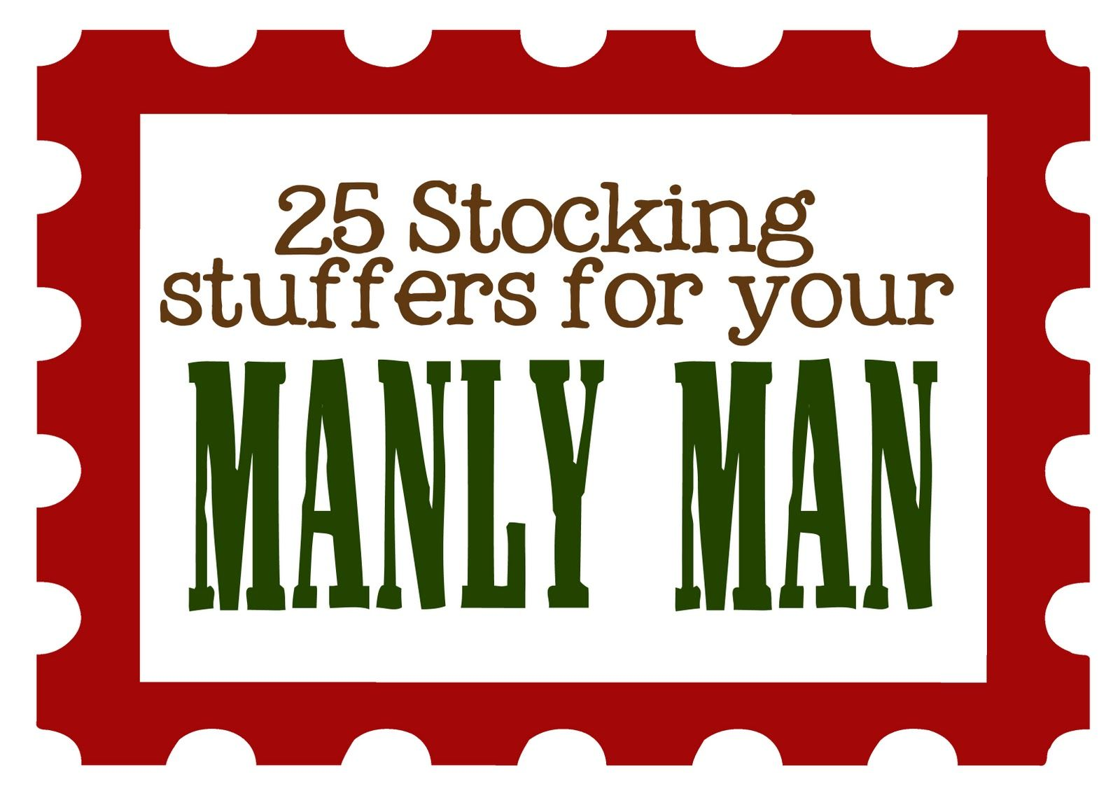 Stocking ideas for guys (dads, husbands, brothers)