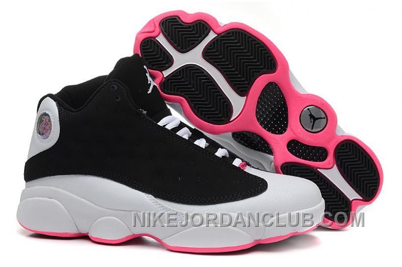 best service 891b9 4e312 http   www.nikejordanclub.com coupon-for-2015-new-nike-air-jordan-xiii-13-womens-shoes-black-and-white-pink.html  COUPON FOR 2015 NEW NIKE AIR JORDA  ...
