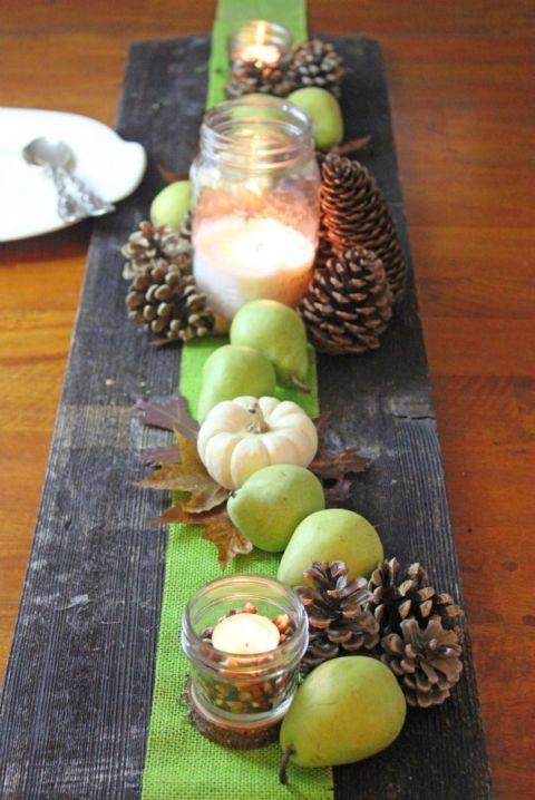 5 Easy And Inexpensive Fall Centerpiece Ideas Simple