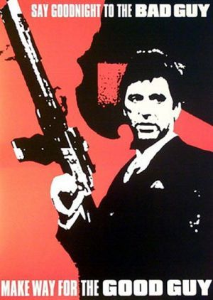 Scarface Poster One Of My All Time Fav Movies Let Me Introduce You To My Leetle Friend Bahahahaha Scarface This Is Us Movie Scarface Poster