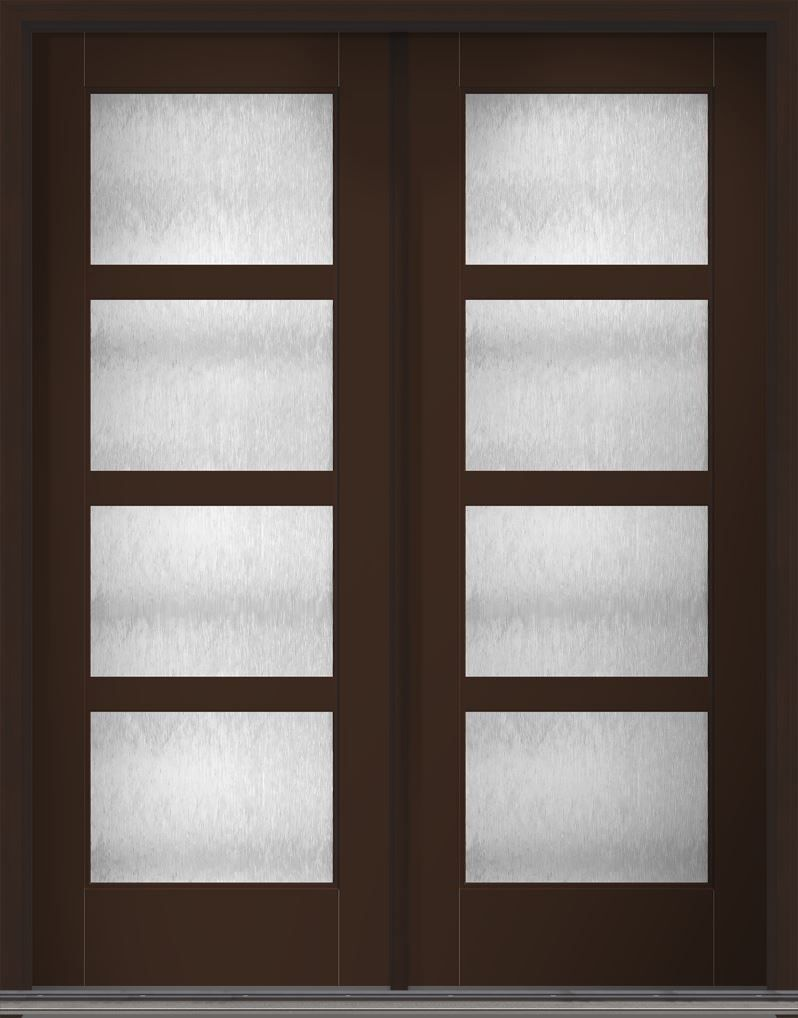 Therma Tru Doors With Chord Obscure Glass Model Homes Doors Custom Homes