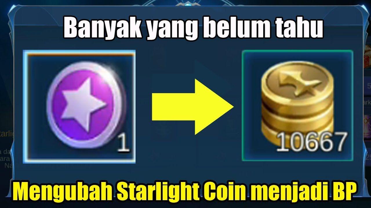 Cara Mengubah Starlight Coin Menjadi Bp 100 Gratis Dan Halal Tahu
