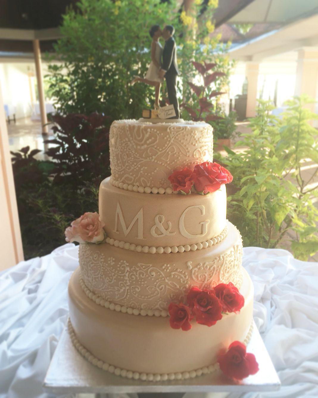 wedding cake mariage chic