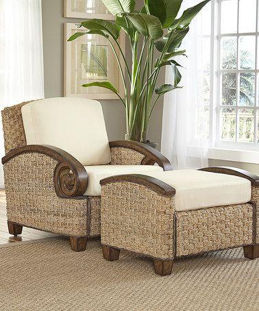 Attirant Home Styles Honey Cabana Banana Chair U0026 Ottoman