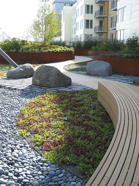 roof garden by lauraknosp, via Flickr Urbanismo, diseño espacio - diseo de jardines urbanos