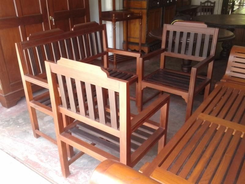 Wooden Sofa Set Jackwood Lobby Bench Set Buy Modern Furniture Furniture Colonial Furniture