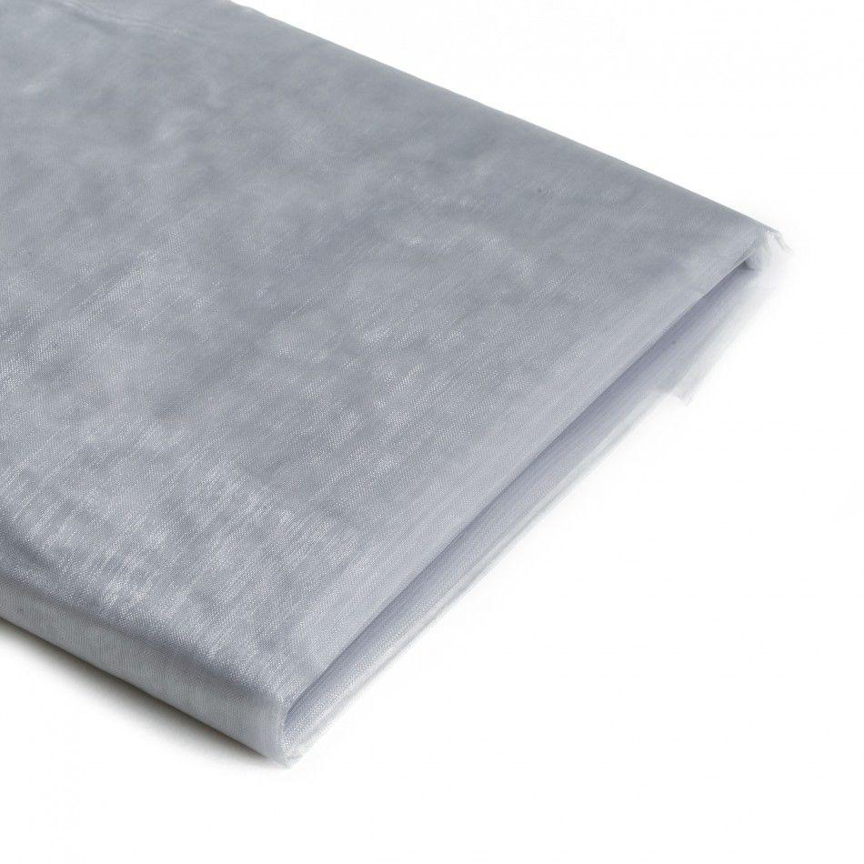 Gray Sheer Organza Fabric Bolt [403770] : Wholesale Wedding Supplies ...