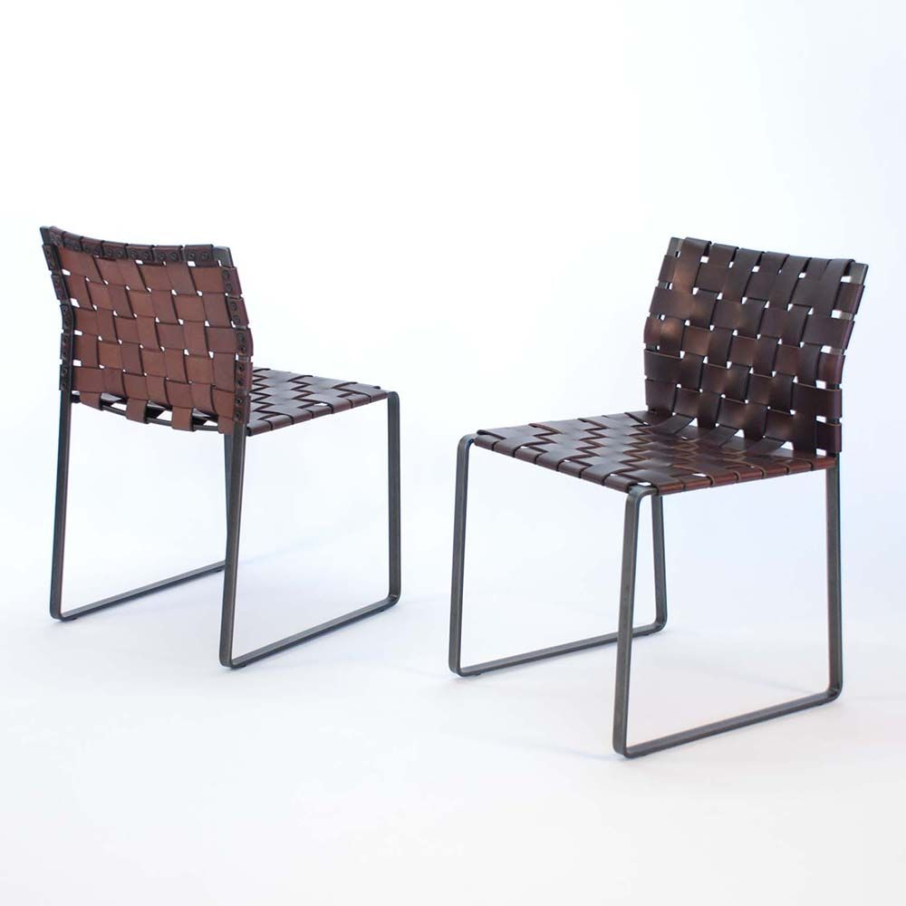 Lovely Woven Side Chair Designed By Mark Albrecht ***Seating @ Black Market Table? Nice Look