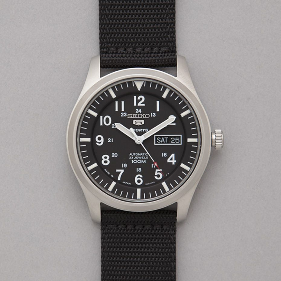 seiko military watch made in japan