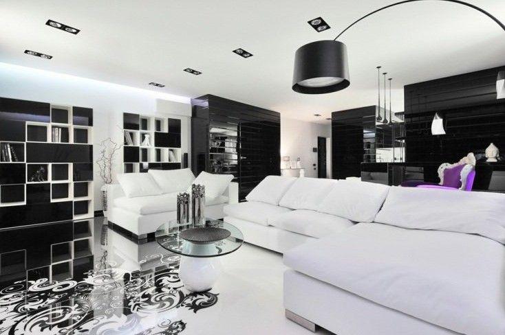 Salon Moderne Canapé