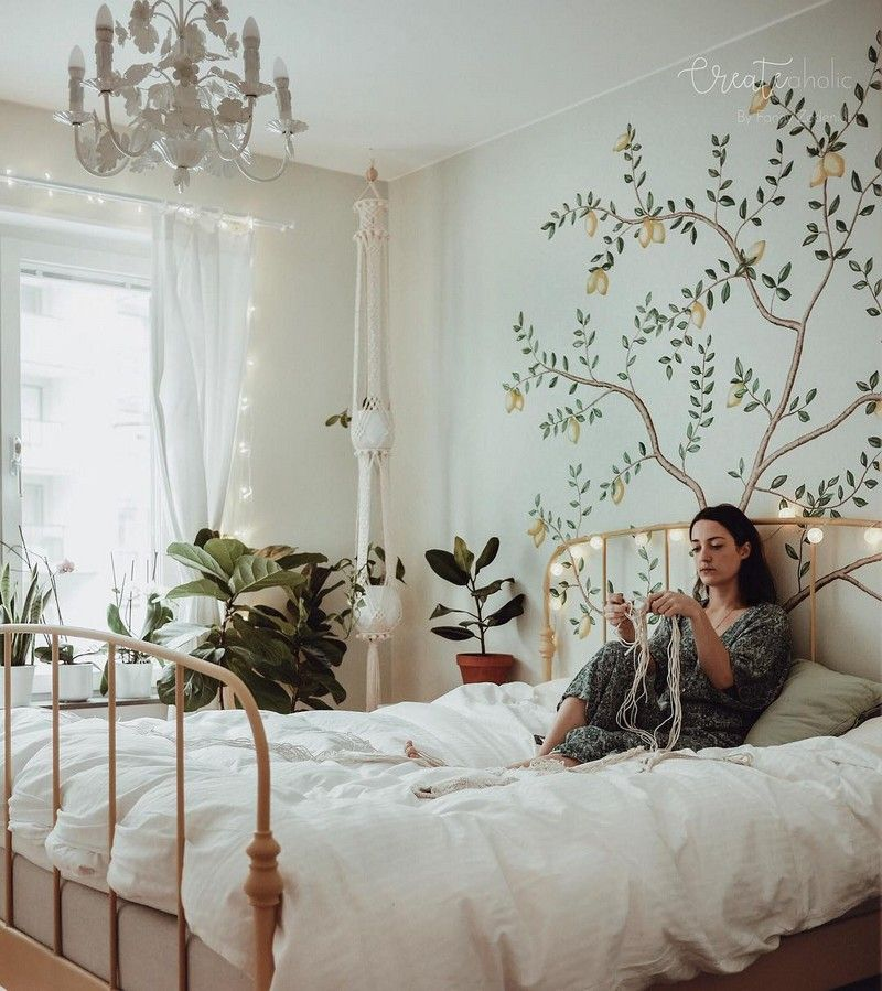 Bohemian Bedroom Decor And Bed Design Ideas Simple Bedroom Simple Bedroom Decor Modern Bohemian Bedroom Boho bedroom ideas wallpaper