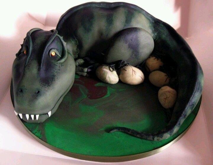 Dinosaur cake h 39 s 6th birthday ideas in 2018 pinterest g teau dino gateau dinosaure and - Dinosaure rigolo ...