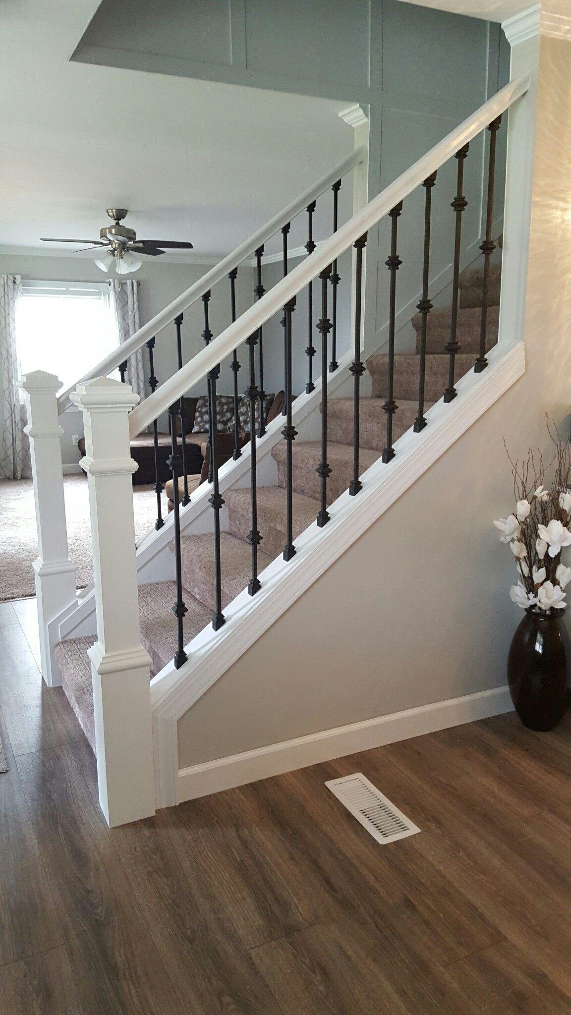 Wonderful How Stair Railings Might Help The Home Look Elegant