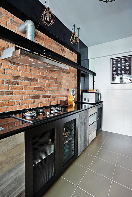 Flat Kitchen Designs: 10 Trendy Kitchens Of HDB Flat Homes
