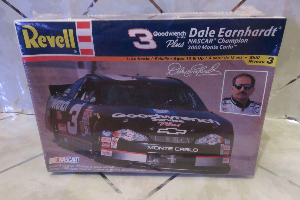 Revell #3 Dale Earnhardt NASCAR 2000 Monte Carlo Goodwrench Model Kit NEW Sealed #Revell