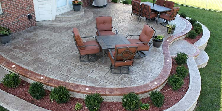 BIONDO CEMENT  Best Exposed Aggregate Patios & Stamped Concrete