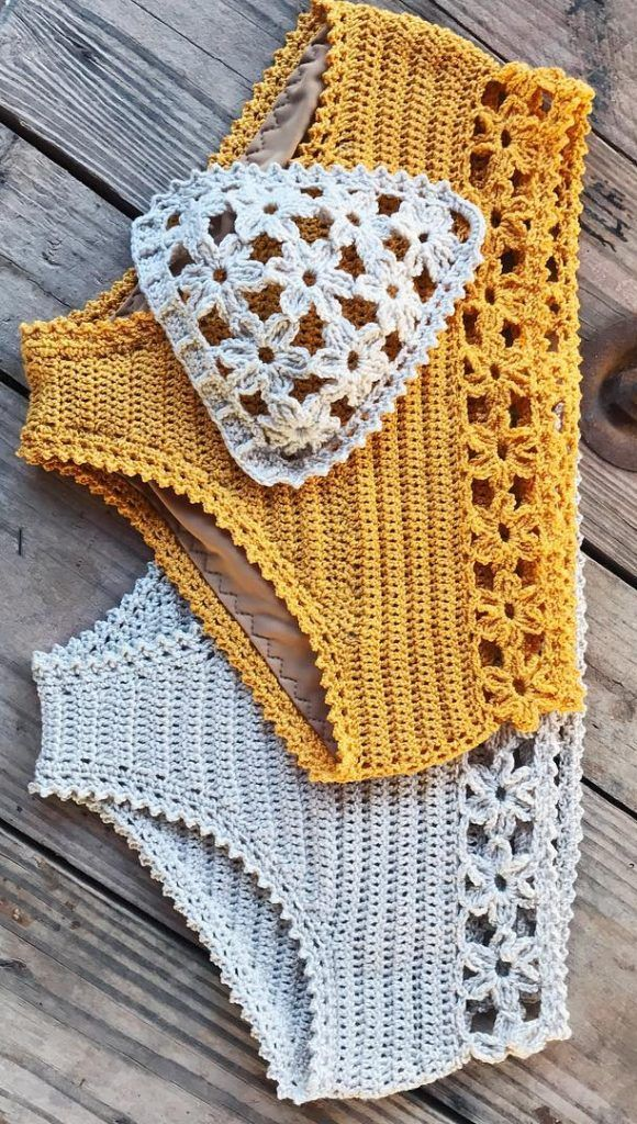 38+ Summer Free Crochet Bikini Pattern Design Ideas for This Year - Page 36 of 38 - Daily Crochet!