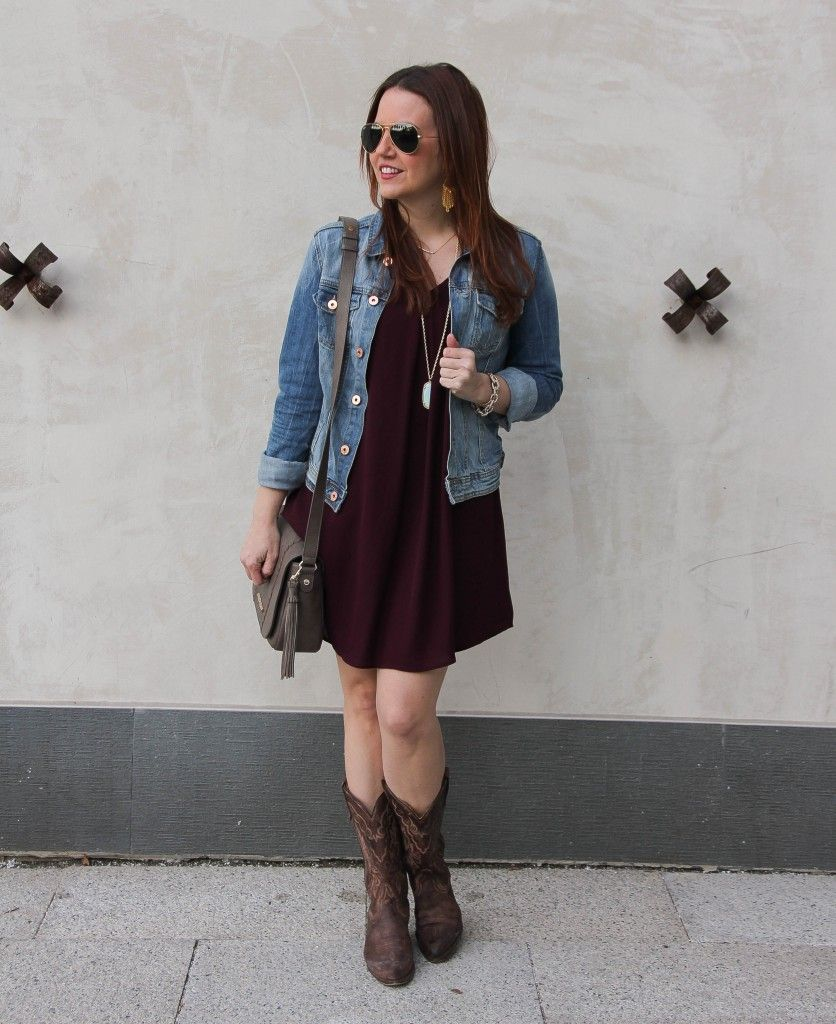 cowboy boots, Casual dress outfits