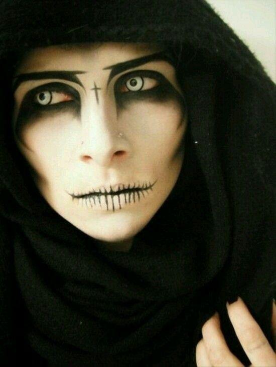 maquillaje de parca