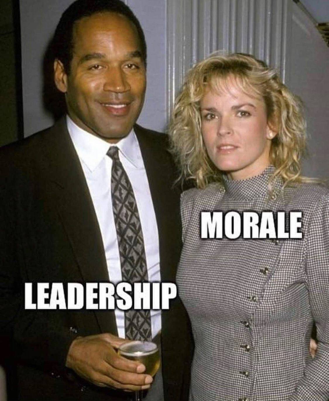 What leadership wants to do to our morale    Military Humor