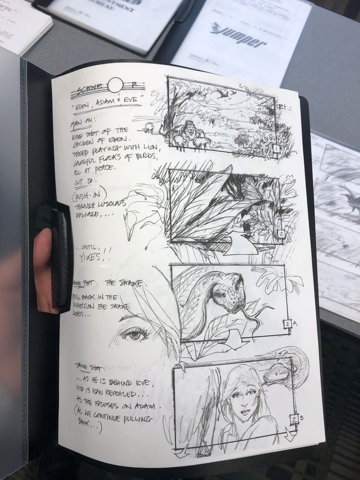 Love the storyboard sketches Design art drawing, Sketch book