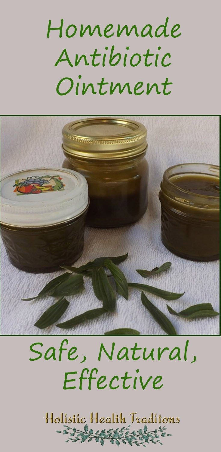 Homemade Antibiotic Ointment | Holistic Health Traditions