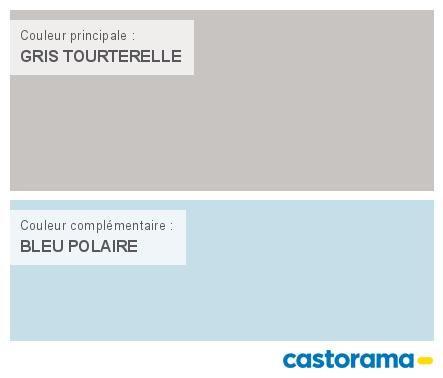 Castorama Nuancier Peinture - Mon harmonie Peinture GRIS TOURTERELLE - peinture satin ou mat