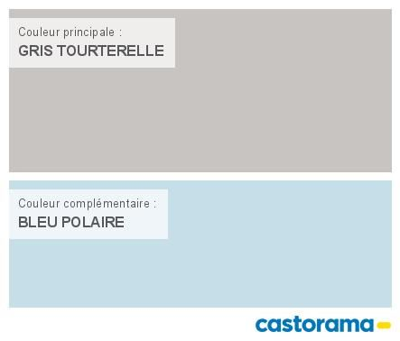 Castorama Nuancier Peinture - Mon harmonie Peinture GRIS TOURTERELLE