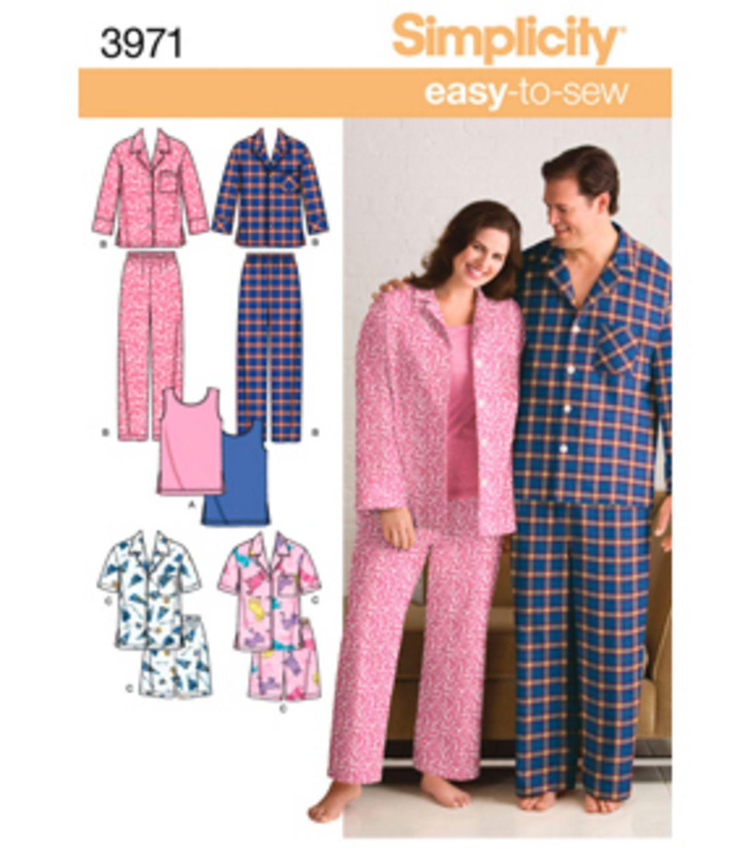 Ladies Pajama Top Pattern - Sew in Tune - Collide | Nachtwäsche ...