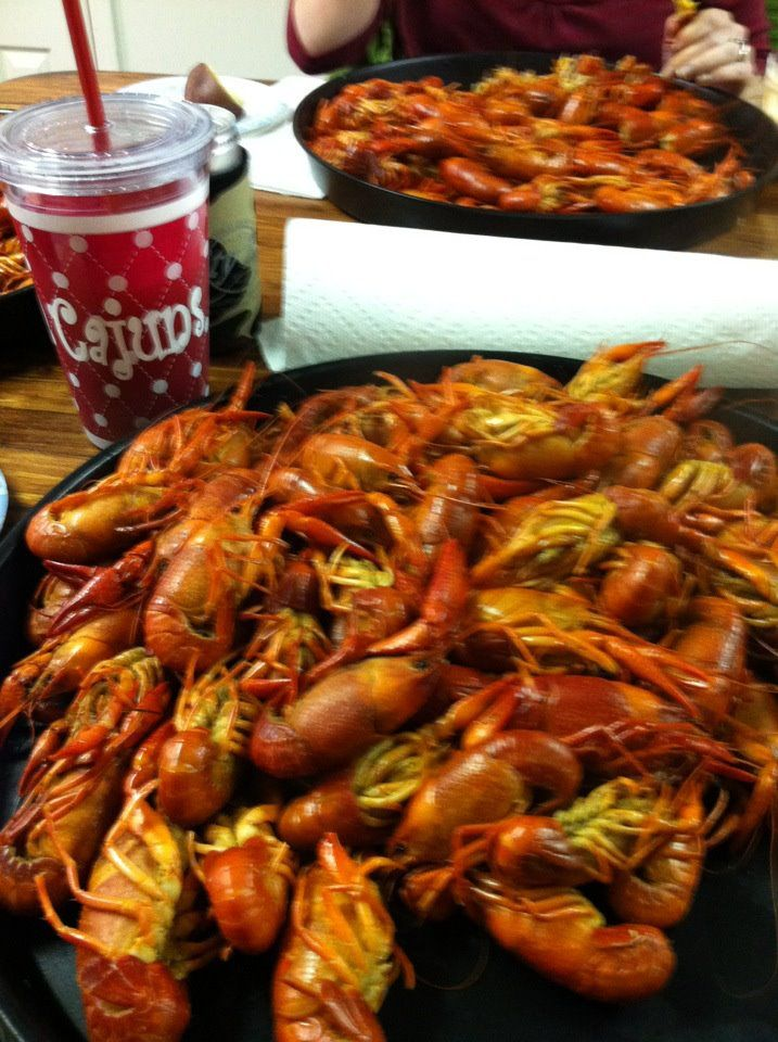 Boiled Crawfish -- Absolute Favorite