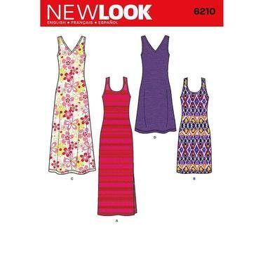 New Look 6210 Womens Dress 10 22 Spotlight Australia