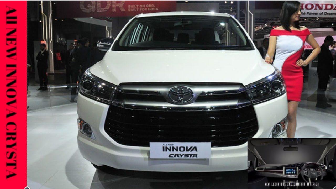 New Toyota Innova Crysta Detil PreviewInterior Exterior