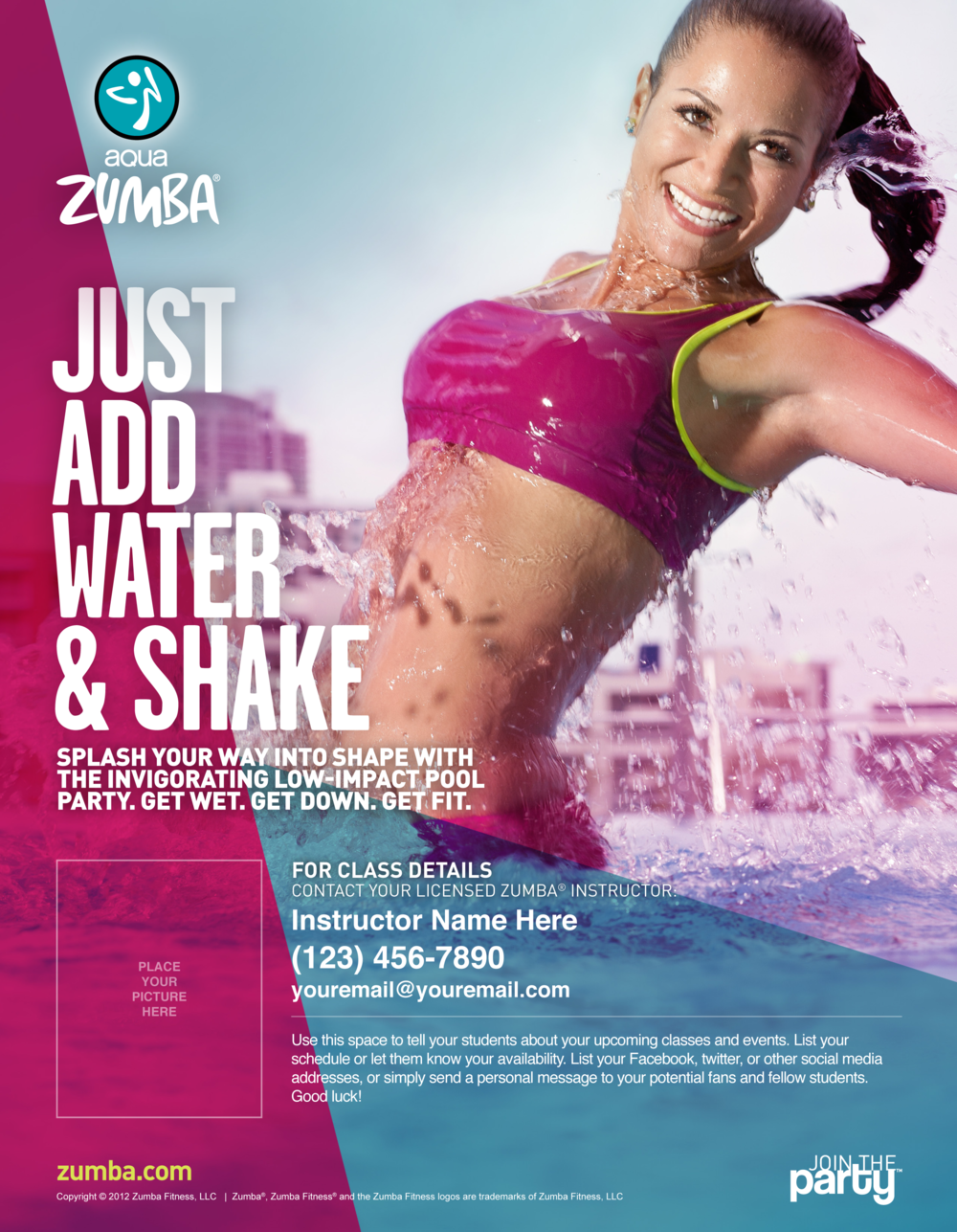 Pin by Ágnes Frohmann on ZUMBA | Pinterest | Flyers, Templates ...