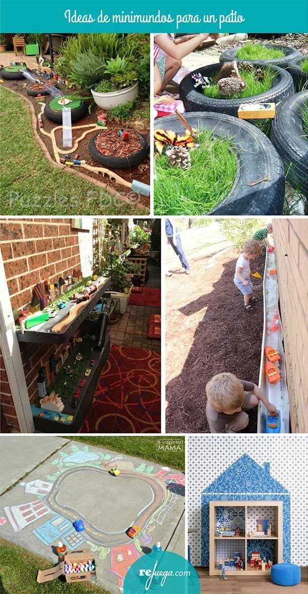 Ideas para crear patios de escuelas que inviten a jugar libremente y ...