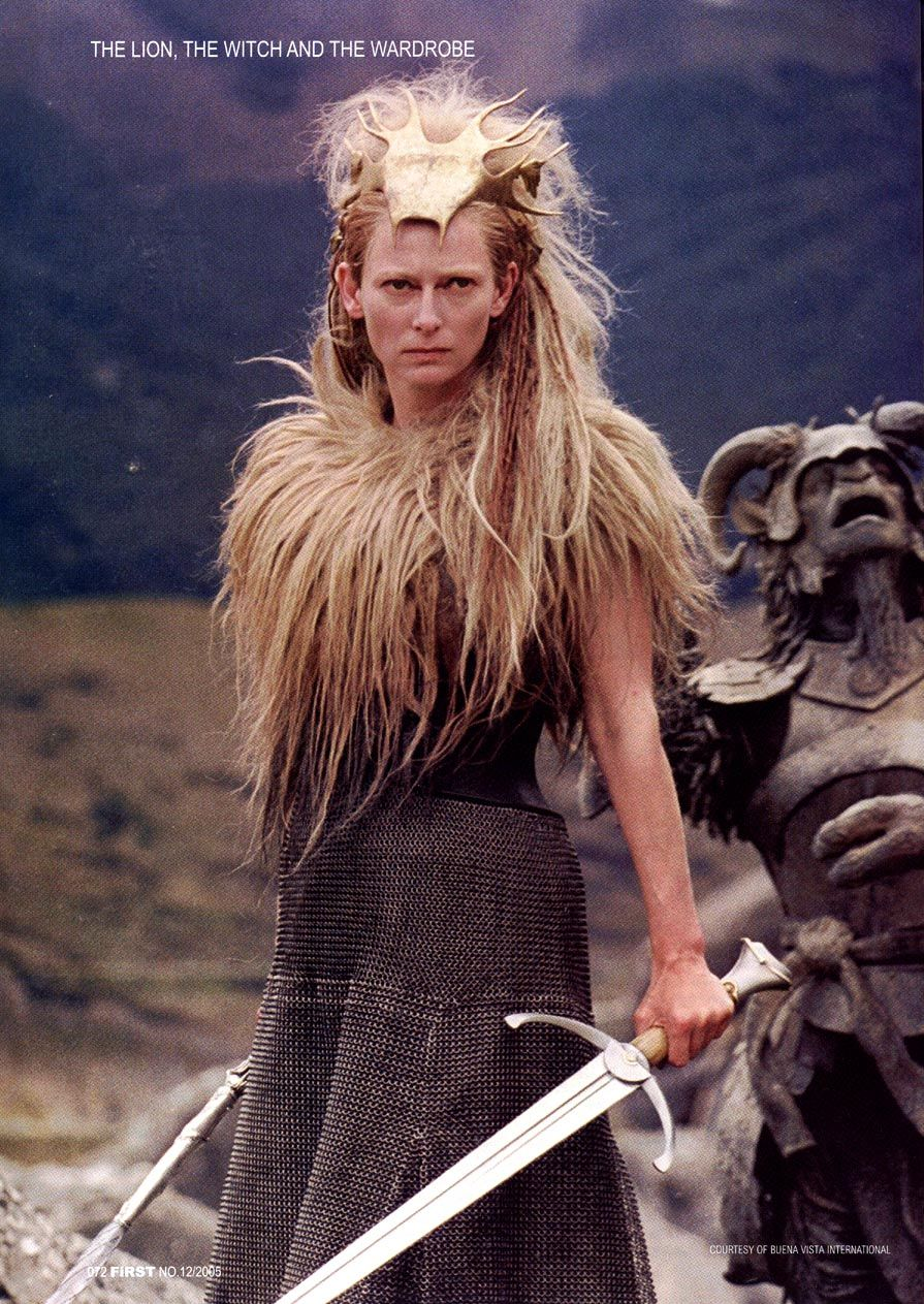 Tilda Swinton as Jadis, the White Witch in The Chronicles of ...
