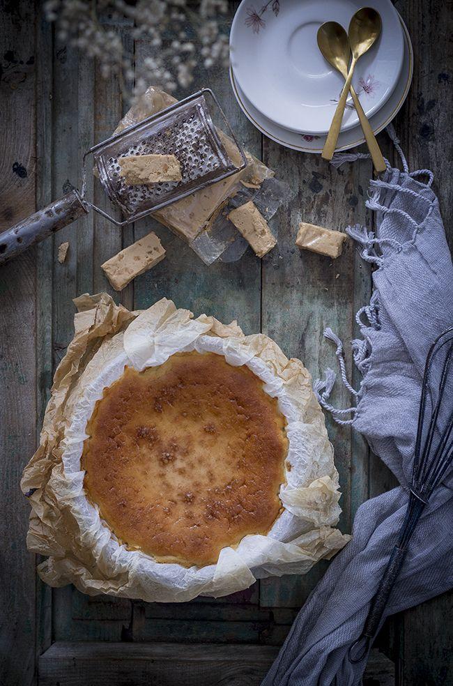 Cheesecake de turrón – Tarta de queso de LA VIÑA
