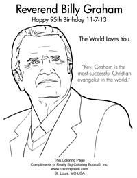 Coloring Pages Free Coloring Page Sheets Coloring Books Coloring Pages Billy Graham