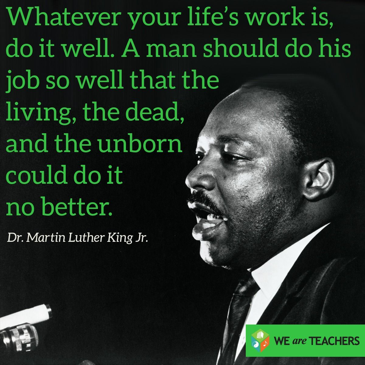 American Quotes: Martin Luther King Jr Quote.